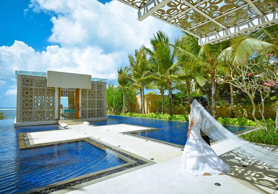 バリ島チャペル・ウェディング/ The Mulia Bali Harmony Chapel Wedding/ ザ・ムリア・バリ/ハーモニー・チャペル挙式