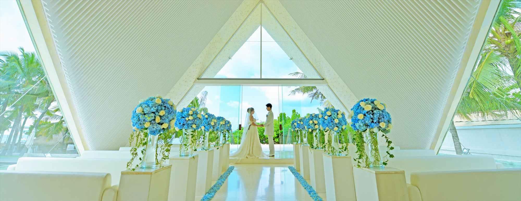 バリ島チャペル・ウェディング ウル・シャンティ・チャペル挙式 Ulu Shanti Chapel Wedding