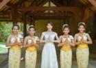 バリ島 ウェディング ウェディングドレス