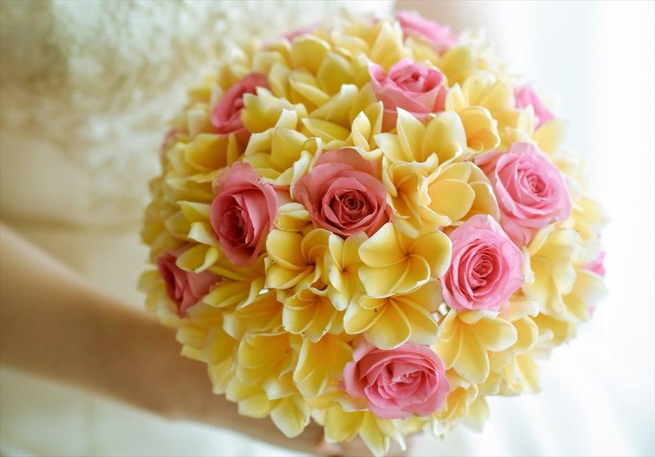 サマベ・バリ挙式 ビーチ・ウェディング 生花のブーケ