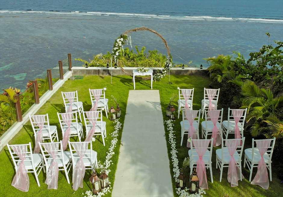 サマベ・バリ結婚式 オーシャンフロント・ヴィラ・ウェディング