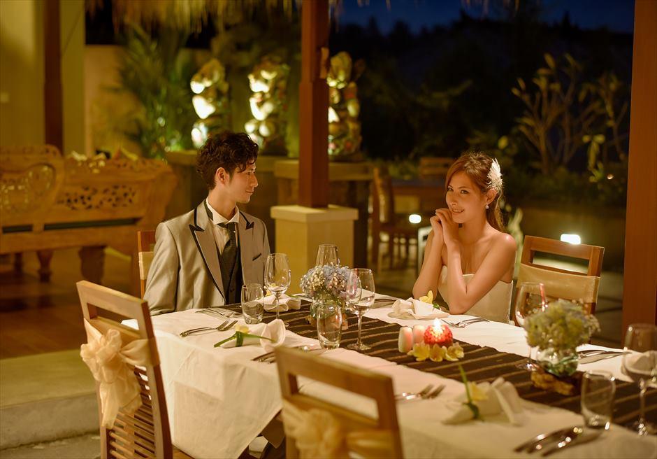 ジャンナタ・リゾート・ウブド・バリ<br /> アマテラス・レストランにて