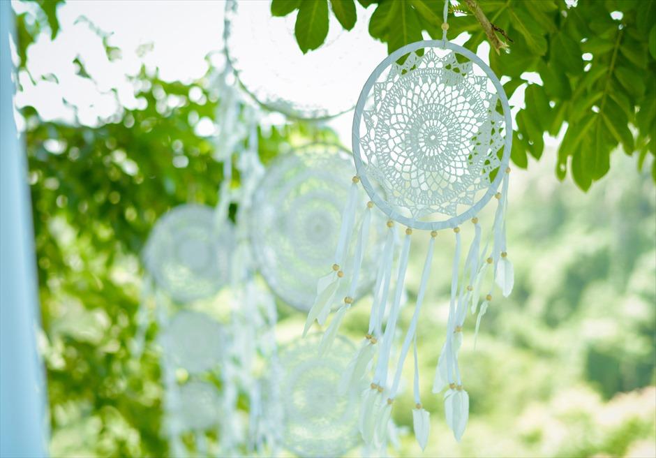 フォレスト・ウェディング 追加装飾プラン ツリーのドリーム・キャッチャー装飾