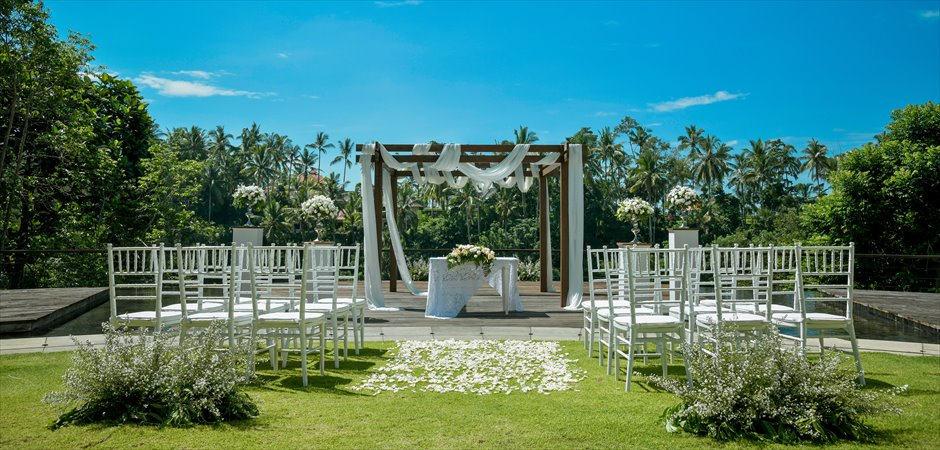Kamandalu Natural Garden Wedding