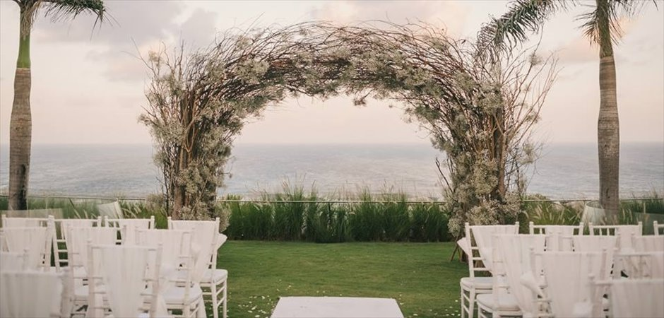 Oceanfront Villa Wedding