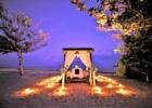 カユマニス・ヌサドゥア ビーチ・テント ロマンティックディナー会場装飾