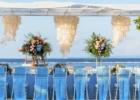 カユマニス・ヌサドゥア ビーチ テント・テーブル装飾 ブルー