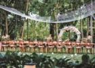カユマニス・ヌサドゥア グリーン・パティオ・ガーデン サークルアーチ・パーティー会場装飾 パウダーピンク アップグレード