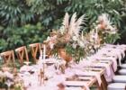カユマニス・ヌサドゥア グリーン・パティオ・ガーデン サークルアーチ・テーブル装飾 パウダーピンク アップグレード