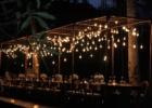 カユマニス・ヌサドゥア プールサイド パーティー会場装飾 バルブ・ライト