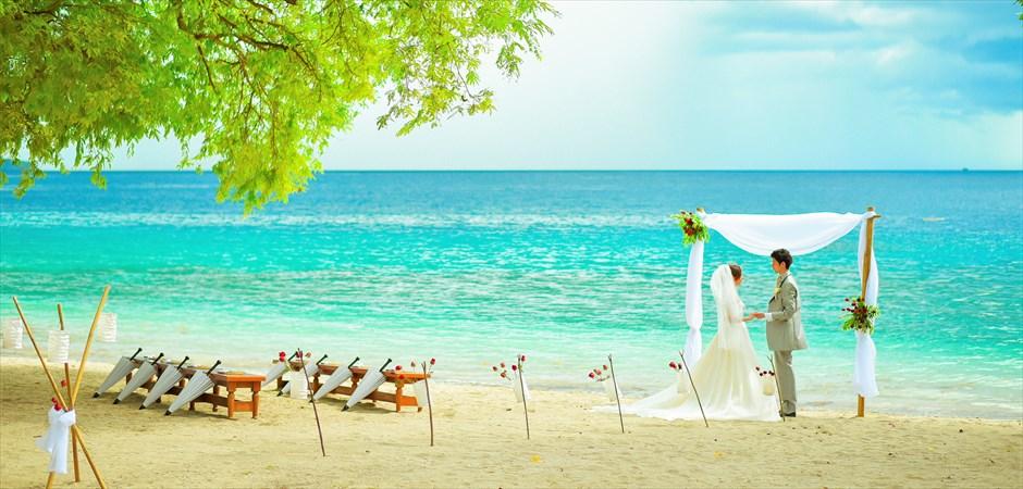 Island Beach Wedding