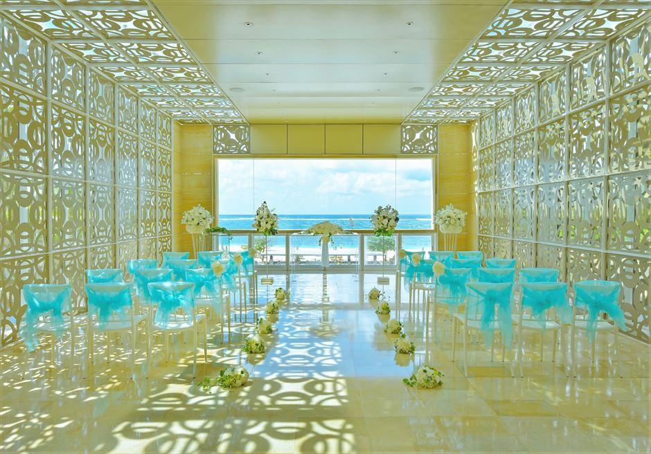 ザ・ムリア・バリ ハーモニー・チャペル・ウェディング フローラル 挙式会場生花装飾