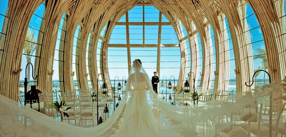 BLESS BALI Ocean Front Apurva Chapel Classic Wedding
