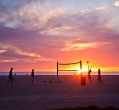 Volleyball-Beach