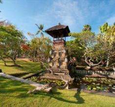 Resort Entrance Garden