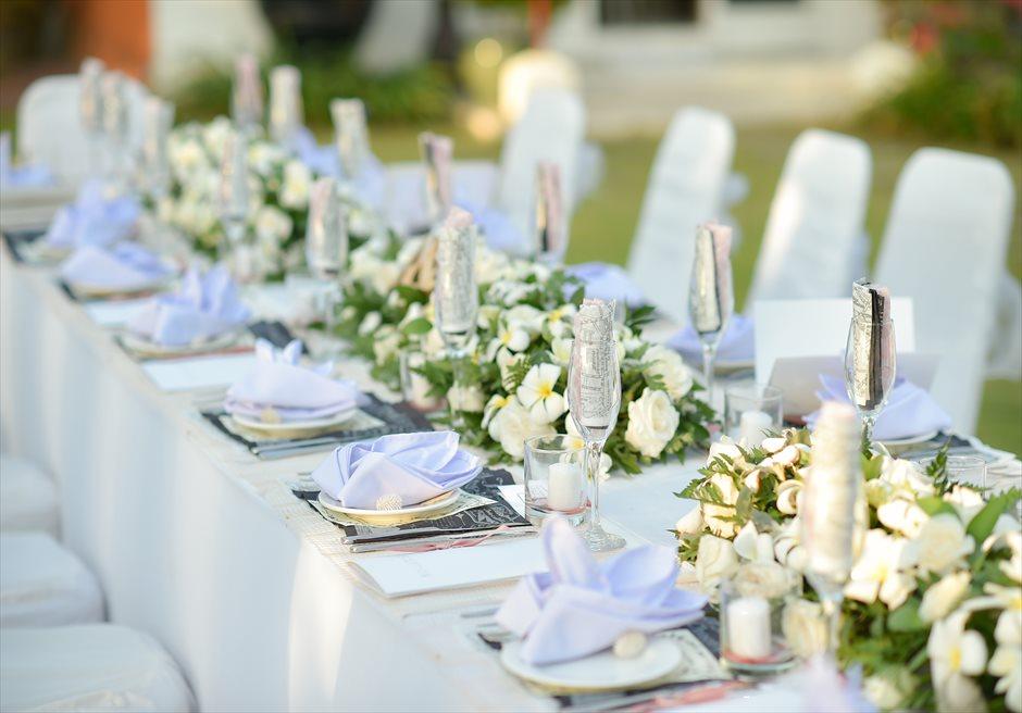 クラトン ガーデン パーティー テーブル装飾