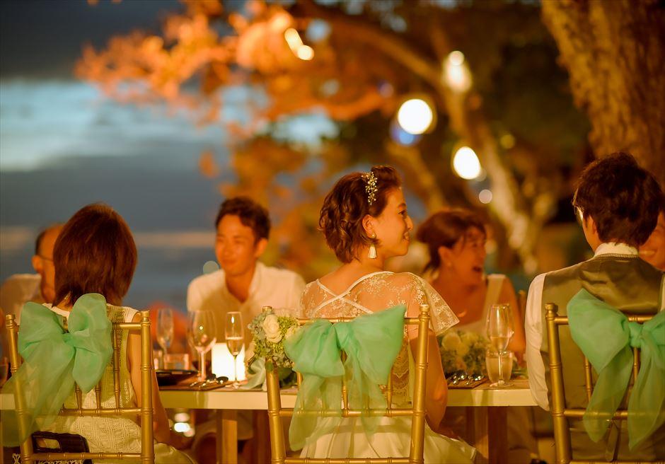 ザ・スミニャック・ビーチ・リゾート ディナーパーティー