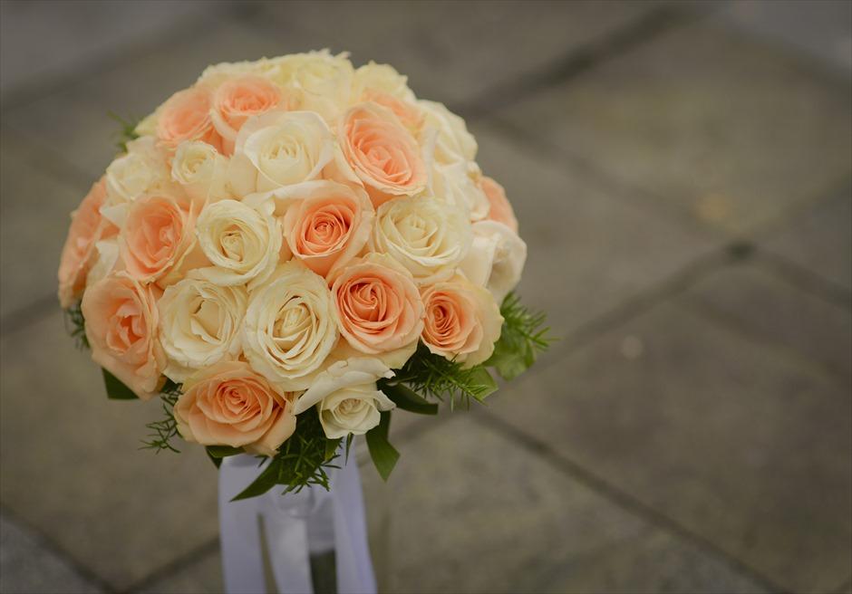 マ・ジョリー 挙式オプション 生花のブーケ&ブーケ・ブートニア