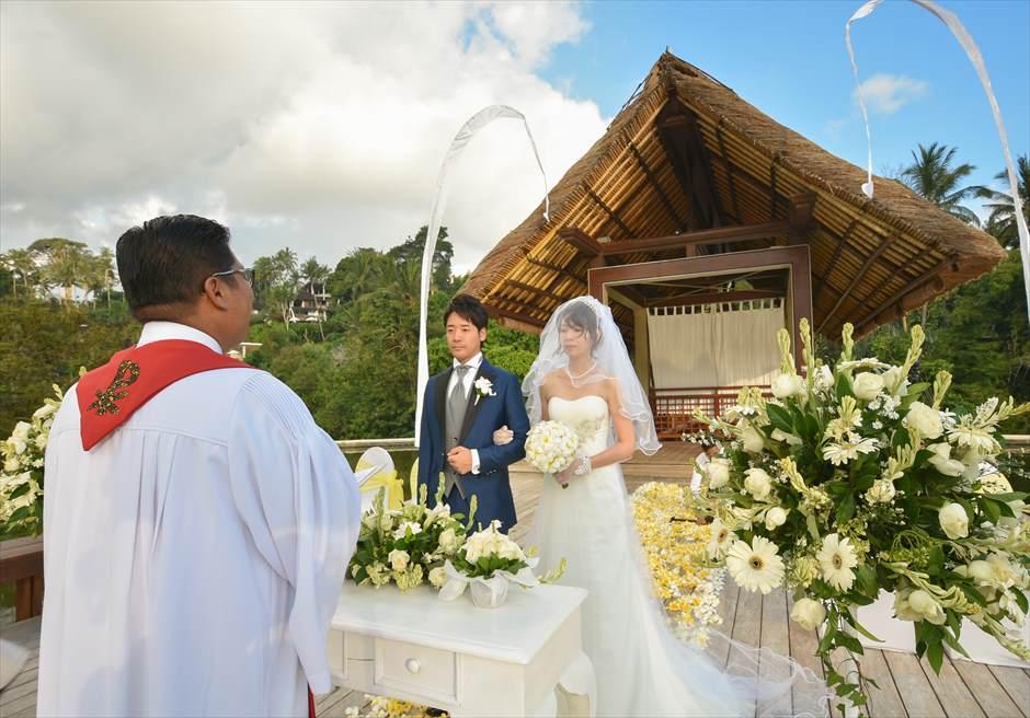 フォーシズンズ・バリ・サヤン・エタニティ 結婚式