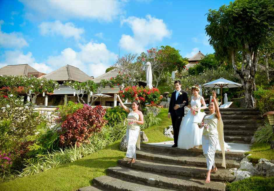 フォーシーズンズ・バリ・ジンバラン フラワーガール結婚式・挙式・ウェディング