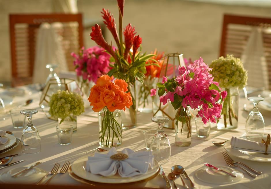 マ・ジョリー ウェディング・パーティーオプション テーブル装飾