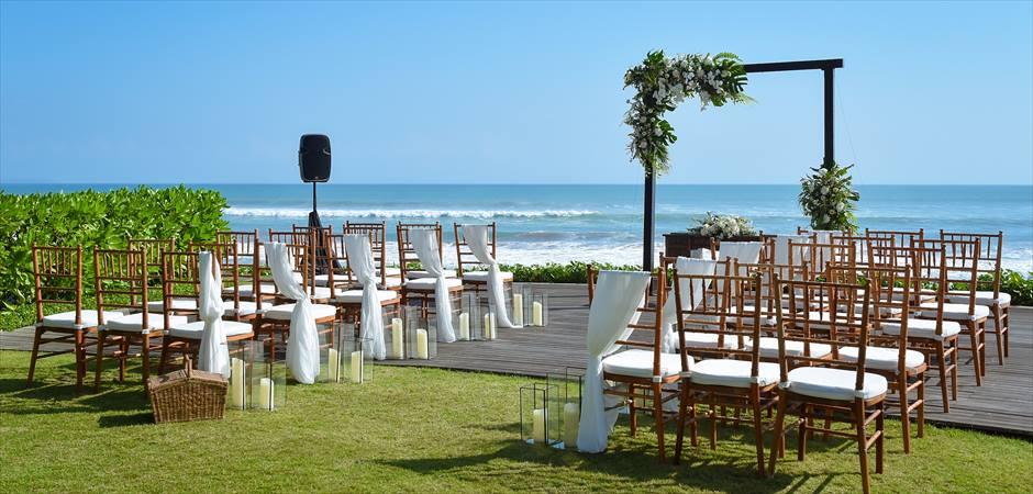Beachfront Garden Wedding