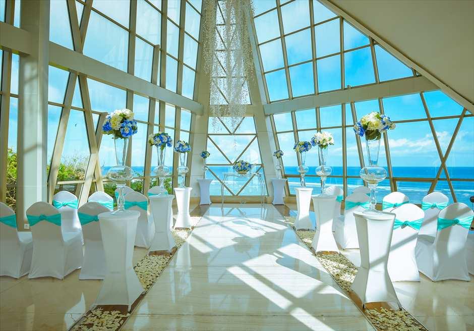 サマベ・バリ パールチャペル装飾ホワイト