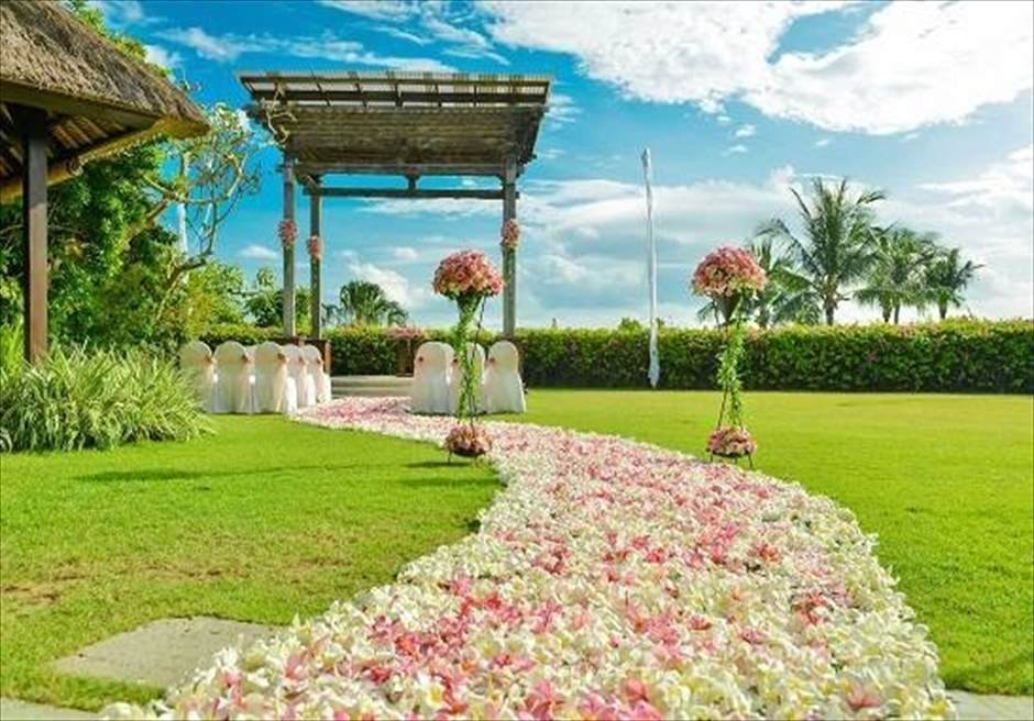 アヤナ・リゾート・バリ アスマラ・ガーデン・ウェディング