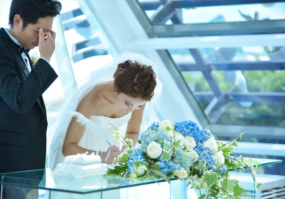 バンヤン・ツリー・バリ挙式 ホワイト・ダブ・チャペル結婚証明書