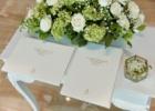 ジ・アプルヴァ・ケンピンスキ・バリ ウェディングオプション 結婚証明書&芳名帳&リングピロー