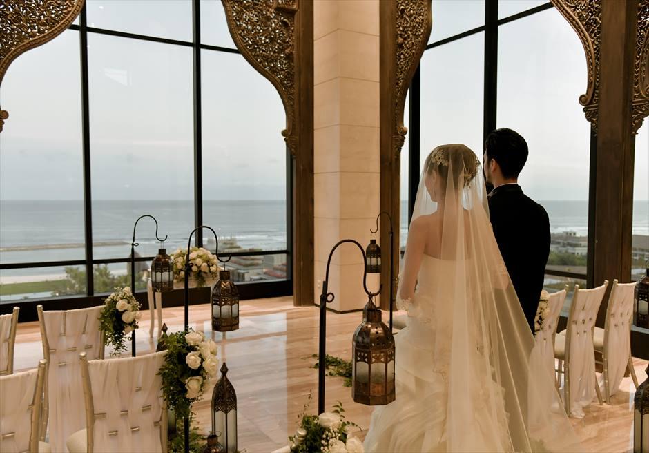 アプルバ・ケンピンスキー・バリ結婚式 クリフ・チャペル アップグレード挙式