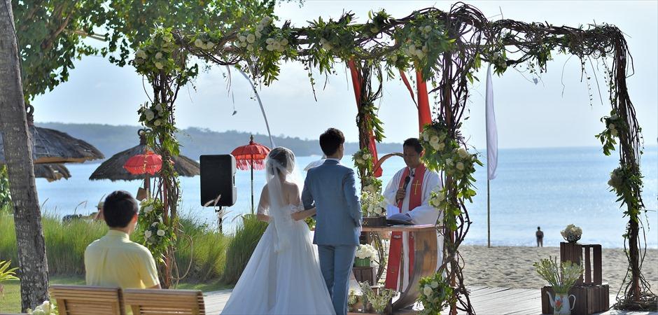 ベルモンド・ジンバラン・ガーデン挙式<br>ロマンティックディナー