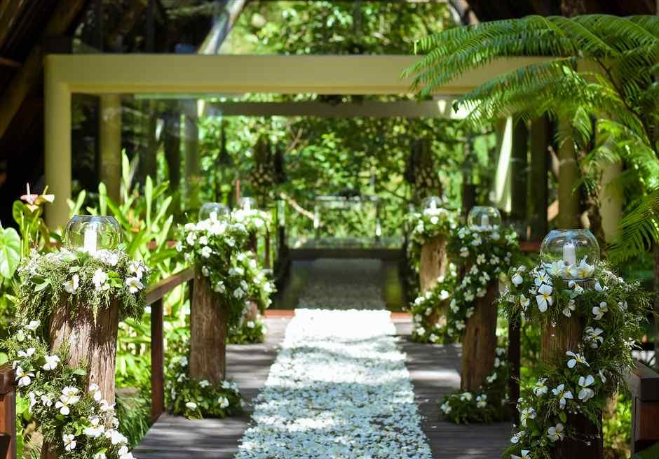 チャペル・ブリッジ 生花装飾フラワーロード