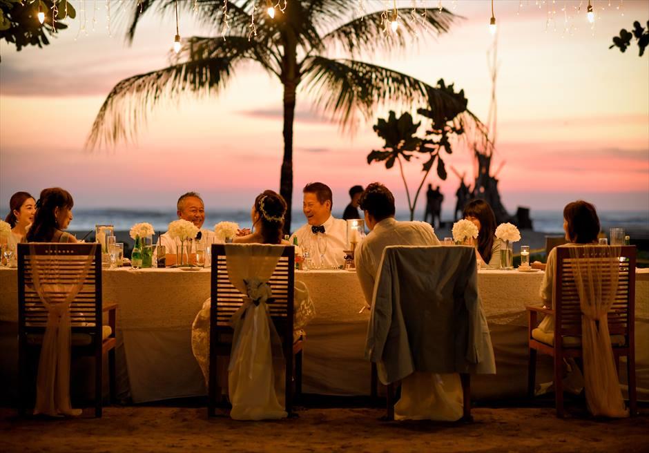 セント・レジス・バリ クラウド・ナイン・チャペル挙式<br>マ・ジョリー・レストラン・パーティー|5月 挙式 M.K.様&M.Y.様