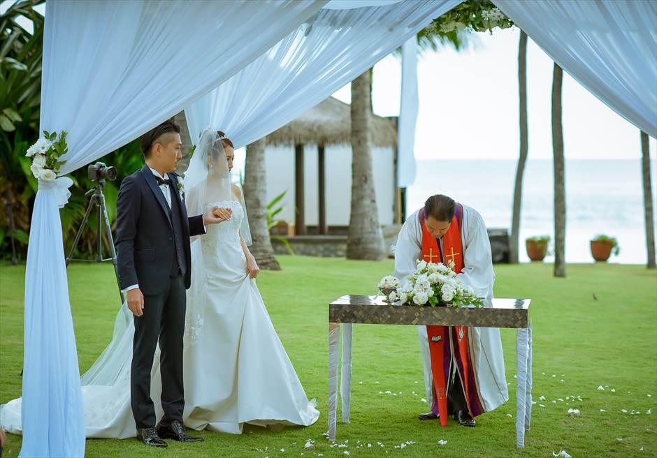 ザ・レギャン・バリ挙式 結婚証明書