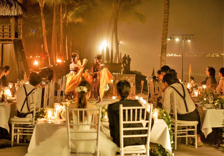ザ・レギャン・バリ挙式&パーティー<br>ガーデンウェディング&パーティー|8月 挙式  M.M.様&M.S.様
