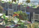 フォーシーズンズ・ジンバラン ギリ・ジンバラン ディナーパーティー テーブルセッティング一例
