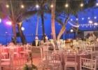 フォーシーズンズ・ジンバラン ココナッツグローブ ウェディング・パーティー 会場装飾一例