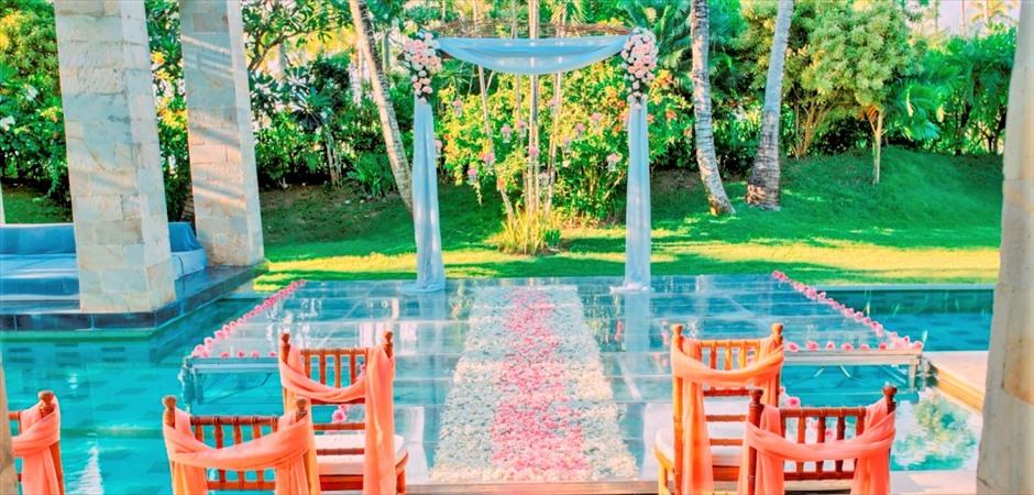 Amarta Villa Water Wedding