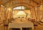 ベルモンド・ジンバラン・プリ・バリ バンブーパビリオン・サンセットパーティー テーブル 基本装飾