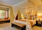 ザ・クンジャ 1ベッドルームヴィラ ベッドルーム