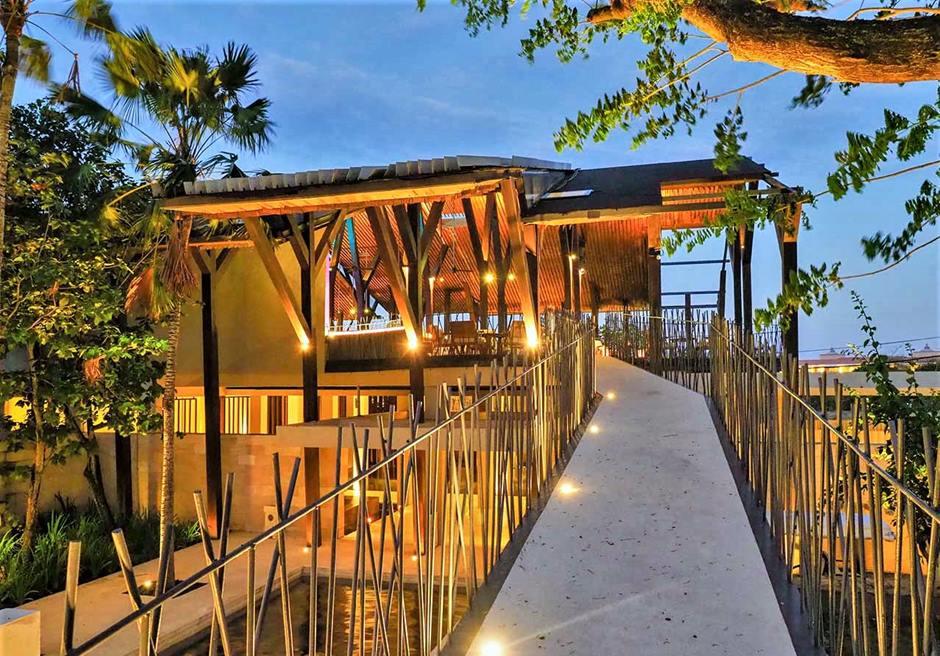 バリ島ウェディング レストランパーティー