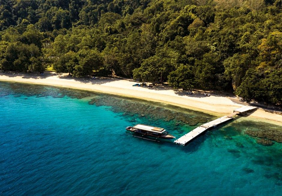 バリ島挙式 バリ観光 モヨ島 アマンワナ