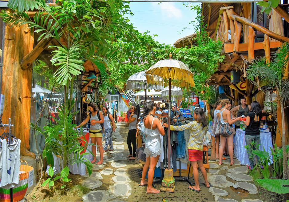チャングー地区撮影ロケーション/ 色彩豊かなお店が軒を連ねるマーケット