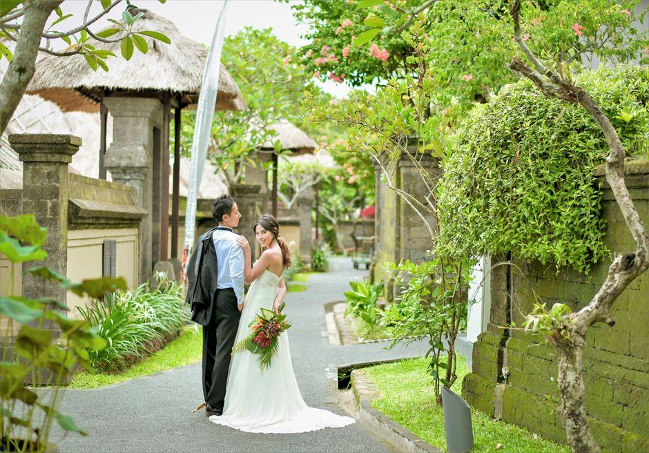 バリ島ウェディング・フォト【ウブド】/ カマンダル リゾート・ガーデン