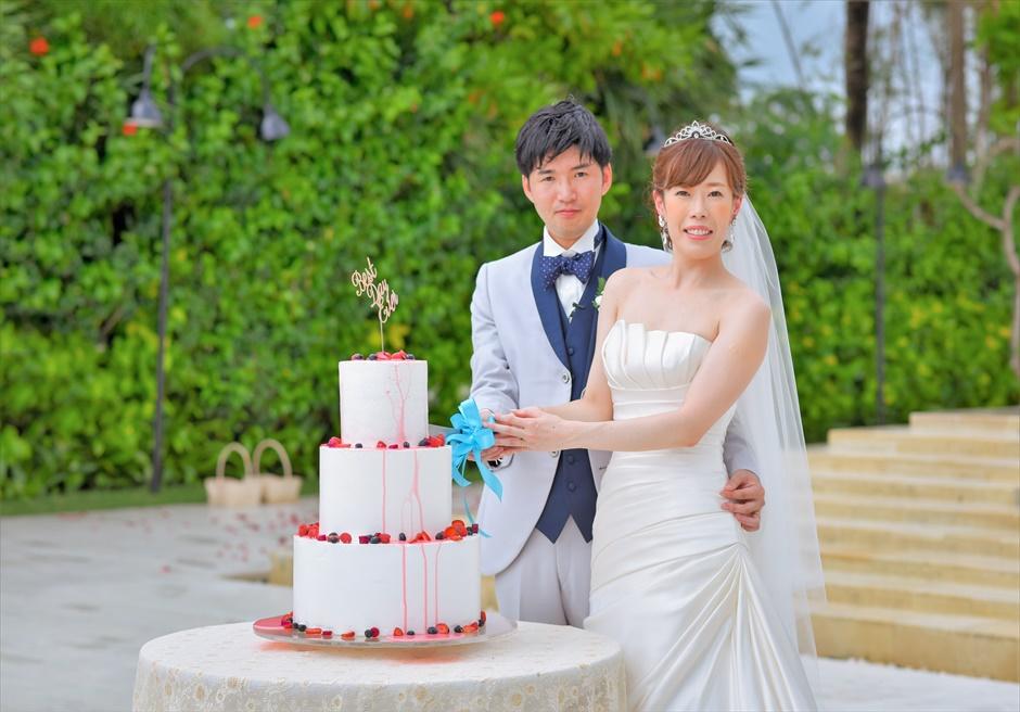 セント・レジス・バリ挙式 ウェディング・ケーキ