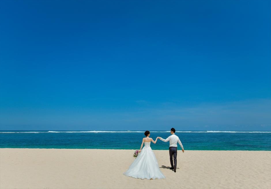 セント・レジス・バリ挙式 フォト・ウェディング バリ随一に美しいビーチ