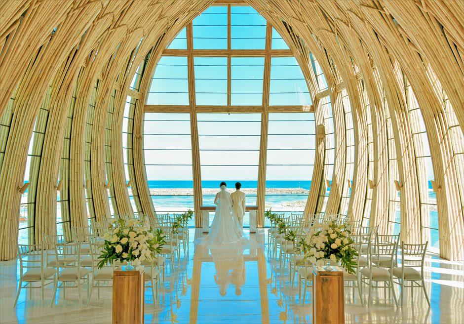 ジ・アプルヴァ・ケンピンスキ・バリ挙式 オーシャンフロント・チャペル結婚式 基本装飾