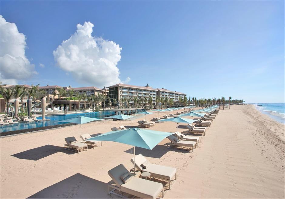 ザ・ムリア・バリ バリ島随一に美しいビーチ