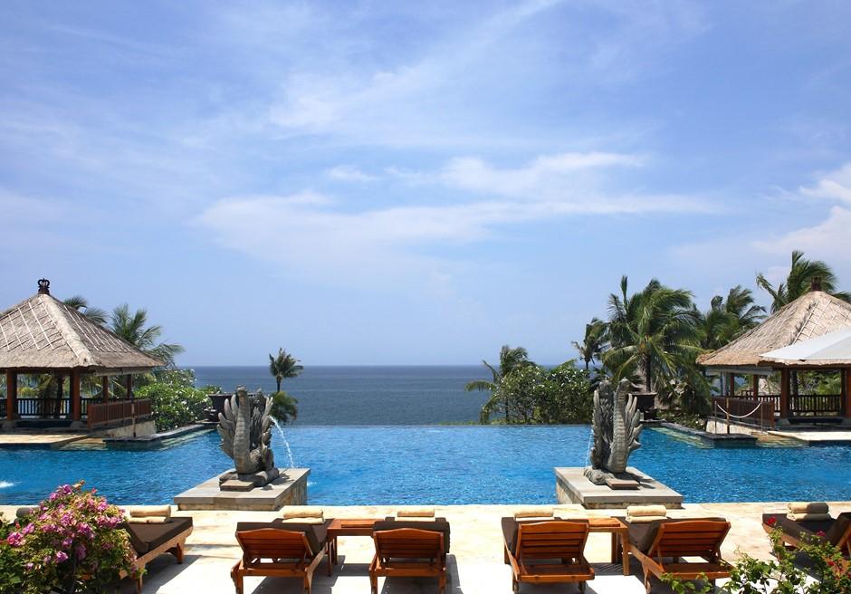 バリ島結婚式 アヤナ・リゾート&スパ プール